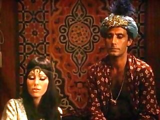 Antique Arabian Nights All Girl Threesome