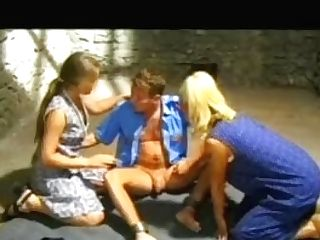 Betty Andersson And Ildiko In An Rectal Threesome