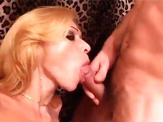 Smoking Tgirl Picks Up Horny Dude